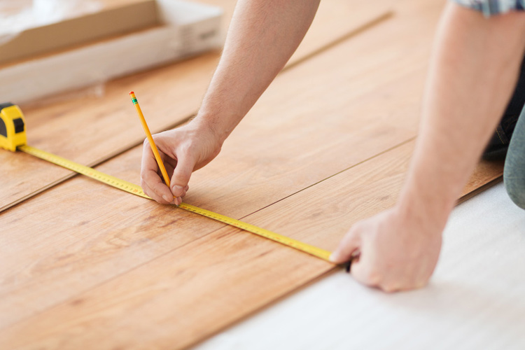 How to Install Snap-Together Laminate Flooring